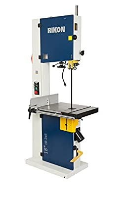 "RIKON Power Tools 10-346 I18 18"" Professional Bandsaw with 4HP Motor, ,"