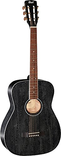Cort 6 String Acoustic-Electric Guitar, Right Handed (AF590MF BOP) (Electric Acoustic Cort)