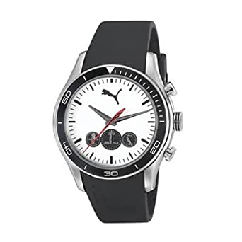 3f204638d34a Image Unavailable. Image not available for. Color  Puma Active - Chrono  Silver Black ...