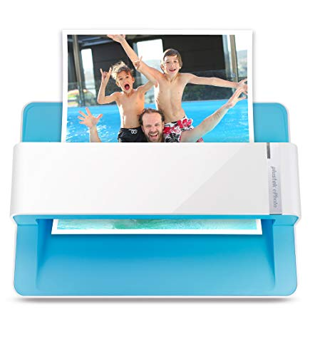 (Plustek Photo Scanner - ephoto Z300, Scan 4x6 Photo in 2sec, Auto Crop and Deskew with CCD Sensor. Support Mac and)