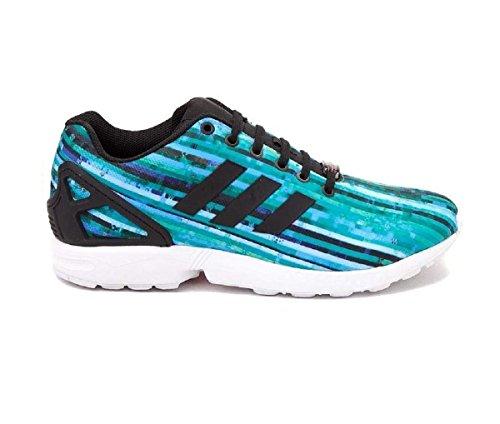Blu Sneakers Unisex Basse S76505 Flux Zx Adidas CF7q5d