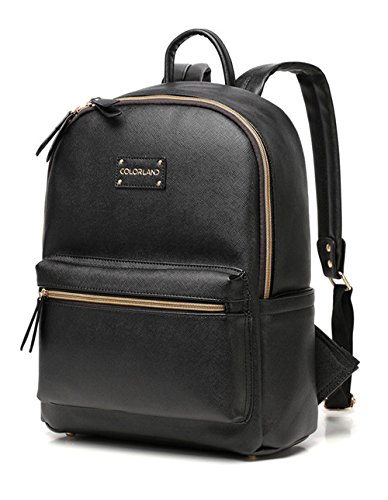 88bccbde87 Buy Oren Empower Colorland Arrival Faux Leather Backpack Bag (Black) Online  at Low Prices in India - Amazon.in