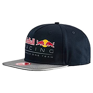 Gorra plana de Red Bull Racing de color azul.: Amazon.es: Coche y moto