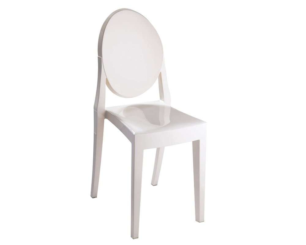 Mod Made Louie Armless Chair, Black MM-PC-089-Black