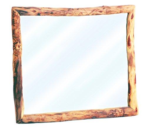 Mountain Woods Furniture Aspen Heirloom Collection Wall Mount Mirror, Bronze Aspen Finish ()