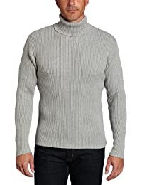 Alex Stevens Men's Ribbed Turtleneck Sweater