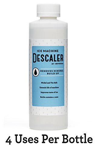 Ice Machine Cleaner Descaler 4 Uses Per Bottle Made
