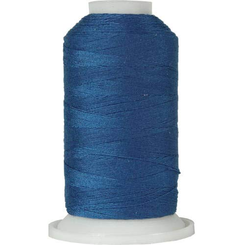 Threadart Polyester All-Purpose Sewing Thread - 600m - 50S/3 - Blue Ribbon ()