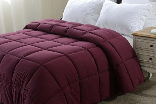super oversized down alternative comforter fits pillow top beds king 110 x 96 dark. Black Bedroom Furniture Sets. Home Design Ideas