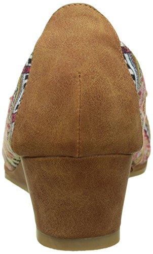 Les Ptites Bombes Coquelicot - Bailarinas Mujer marrón (camel)