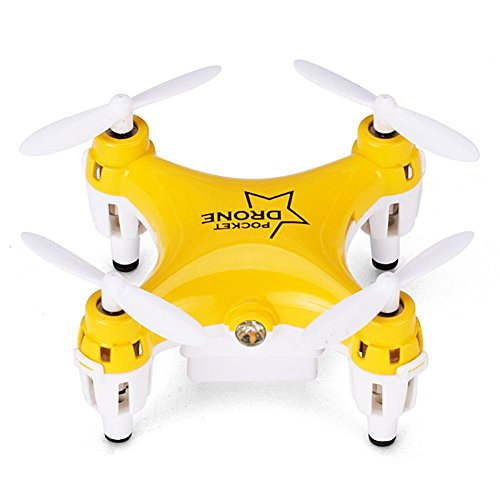Iainstars Lishi L6058 2.4G Mini Quadcopter Remote Control Pocket Drone (yellow) by Iainstars