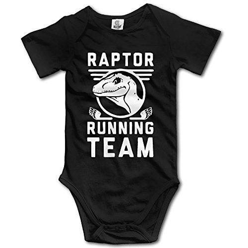 Price comparison product image Newborn Girls Raptor Running Team Baby Onesies Romper