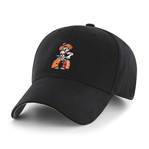 OTS NCAA Oklahoma State Cowboys Children Cinch All-Star MVP Adjustable Hat, Toddler, Black (State Oklahoma Cowboys Basketball)