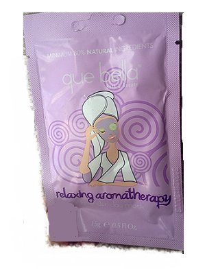 Que Bella Bath & Beauty Relaxing Lavender Aromatherapy Mask