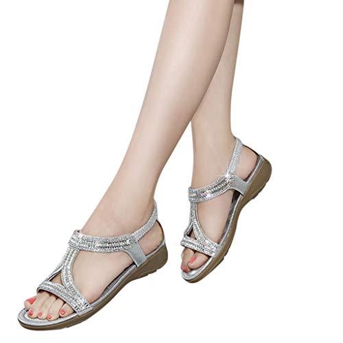 LUCA Ladies Sandals Peep Toe Bling Bohemia Crystal