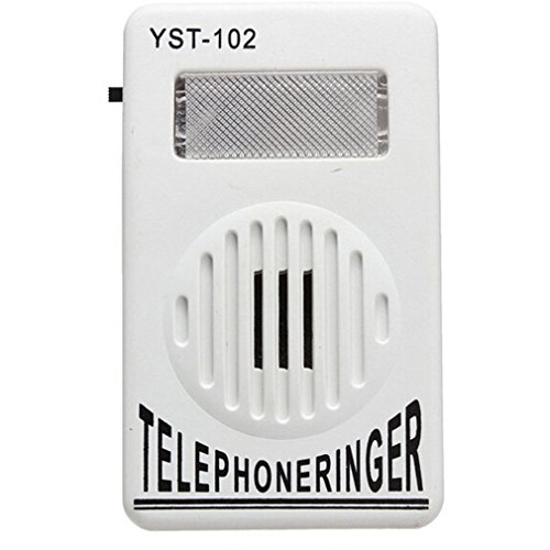 Vipe Telephone Phone Amplifier Strobe Light Flasher Bell Extra-Loud 95dB Ringer Sound ()