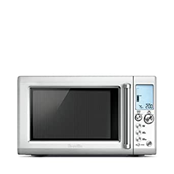 Breville 34 Liters Quick Touch Microwave - BMO735, Silver