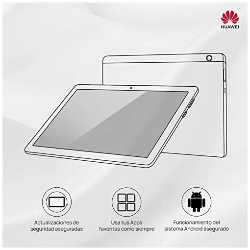 """Huawei MediaPad T5 - Tablet 10.1"""" FullHD (WiFi, Android 8.0) Negro 2"""