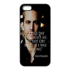 Paul Walker Design Cheap Custom Hard Case Cover for iPhone 5,5S, Paul Walker iPhone 5,5S Case