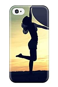 [EjUhwzc3506esRdq]premium Phone Case For Iphone 4/4s/ Lady With Heart Artistic Abstract Artistic Tpu Case Cover