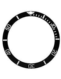 Ceramic bezel insert for Rolex Submariner Black
