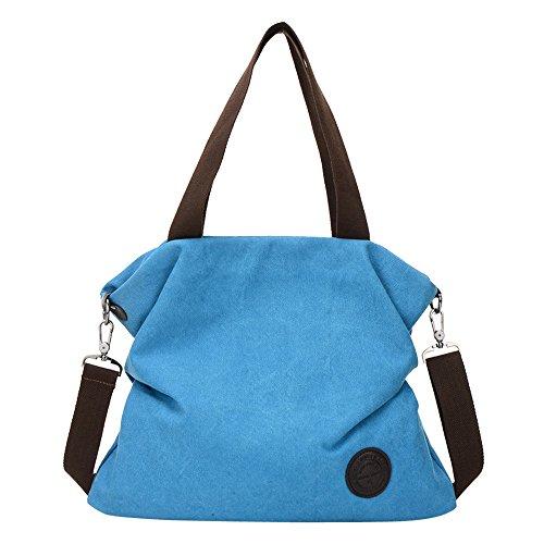 Clearance ❤ Women Bag JJLIKER Canvas Simple Tote Handbag Messenger Shoulder Bag
