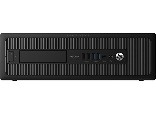 2018 HP ProDesk 600 G1 High Performance Business Small Form Factor Desktop Computer, Intel Core i3-4130 3.4 GHz, 8GB RAM, 500GB HDD, DVD, WiFi, Windows 10 Pro (Certified Refurbished)