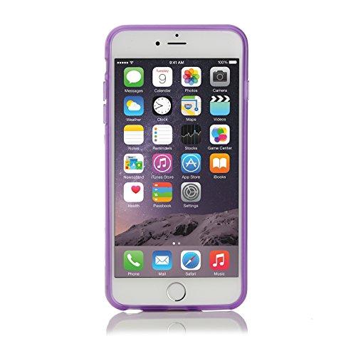 ArktisPRO coque de protection en tPU pour apple iPhone 6 plus transparent/violet