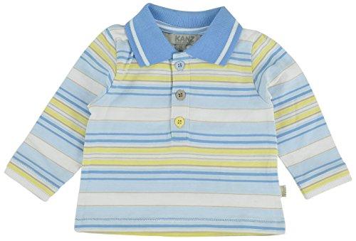 Kanz Baby - Jungen Poloshirt 1512421, Gestreift, Gr. 74, Mehrfarbig (Y/D Stripe Multicolored 0001)