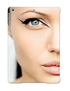 Design For Ipad Air Premium Tpu Case Cover Photo Of Angelina Jolie Protective Case