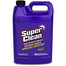 1 Gallon Tough Task Cleaner Degreaser, Full Concentrate All Purpose Cleaner, Biodegradable & Phosphate Free by Super Clean