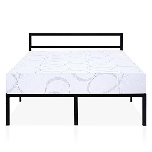 Olee Sleep K14BX02MOLVC Bed Frame, King, Black