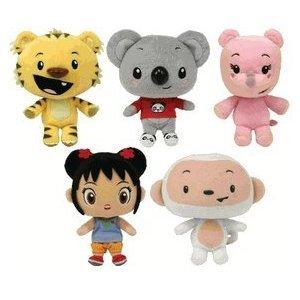 Ty Nihao, Kai-lan Set of All 5 Beanie Babies, Baby & Kids Zone