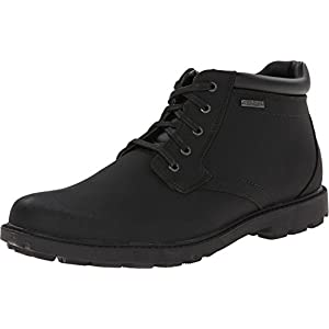 Rockport Men's Storm Surge Water Proof Plain Toe Boot Black 12 M (D)