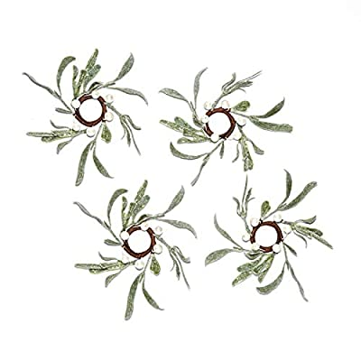 LampLust Pearl and Mistletoe Christmas Decoration Collection