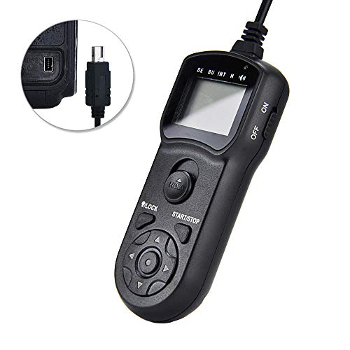 (Timer Remote Shutter JJC Timer Shutter Release Remote Control Cord for Nikon D7500 D7200 D7100 D7000 D5500 D5300 D5200 D5100 D5000 D3300 D3200 D3100 D750 D610 D600 D90 P7800 etc Replaces Nikon MC-DC2)