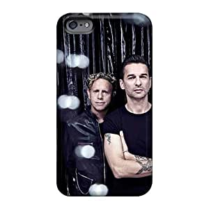 Hard Protect Phone Case For Apple Iphone 6s Plus (Ugb1853fRbq) Unique Design Stylish Depeche Mode Band Pattern