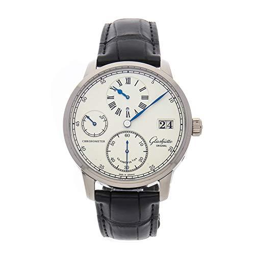 Glashutte Original Senator Mechanical (Hand-Winding) Silver Dial Mens Watch 58-04-04-04-04 (Certified Pre-Owned)