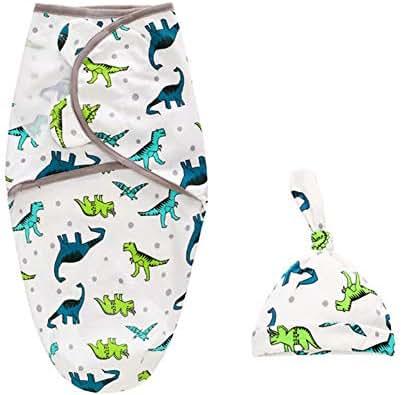 JHION Newborn Blanket Swaddle Unisex Baby Adjustable Infant Wrap