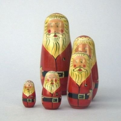 India Overseas Trading Corporation WW1074 - Russian Santa Set