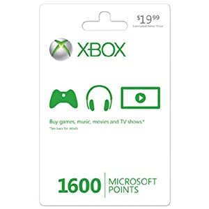 Ratings and reviews for Xbox LIVE 1600 Microsoft Points - Xbox 360 Digital Code