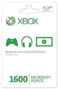 Xbox LIVE 1600 Microsoft Points - Xbox 360 Digital Code