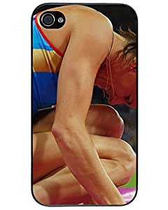 4521191ZF311260241I4S Fresh iPhone 4/4s Case, Yelena Isinbayeva Collection Hard Plastic Phone Case for iPhone 4/4s Chocolate Candies Style's Shop
