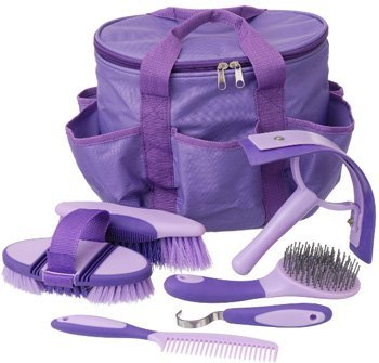 Tough-1 Great Grips 6 Piece Brush Set with Bag Bla by Tough 1
