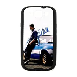 Popular Movie Paul Walker in fast furious 6 Samsung Galaxy S3 I9300 Case Cover TPU Laser Technology