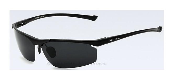 Veithdia marca más masculino que vende gafas de sol polarizadas Deportes Modelo 6587: Amazon.es: Ropa y accesorios