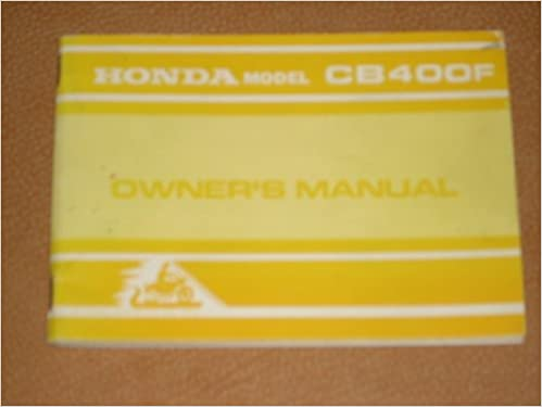 [DIAGRAM_5NL]  Authentic 1974 Factory HONDA Motorcycle Model CB400F Owner's Manual (with  foldout Wiring Diagram): Honda: Amazon.com: Books | Honda Cb400f Wiring Diagram |  | Amazon.com