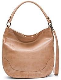 Melissa Hobo Leather Handbag