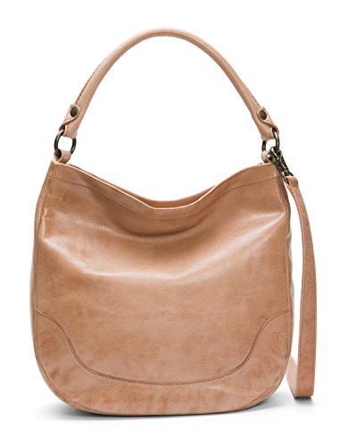 FRYE Melissa Hobo Leather Handbag, Dusty Rose by FRYE