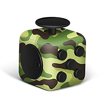 1208S Fidget Cube Relieves Stress & Anxiety,Helps to Focus - For Adults and Children - Extra Durable Twiddle Cube